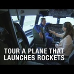 Tour the Plane Giving NASA's ICON a Ride to Space