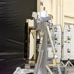 Pegasus ICON Solar Array Deployment Test