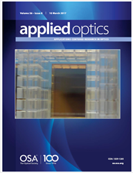 ICON on cover of Applied Optics magazine
