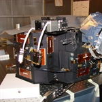 FUV instrument during testing at Lockheed Martin