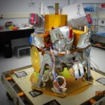 Instruments mated to the Payload Integration Plate (PIP)