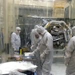 Pegasus ICON Spacecraft Mate to Launch Vehicle